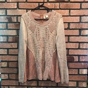 Anthropologie Moth Rustic Sweater